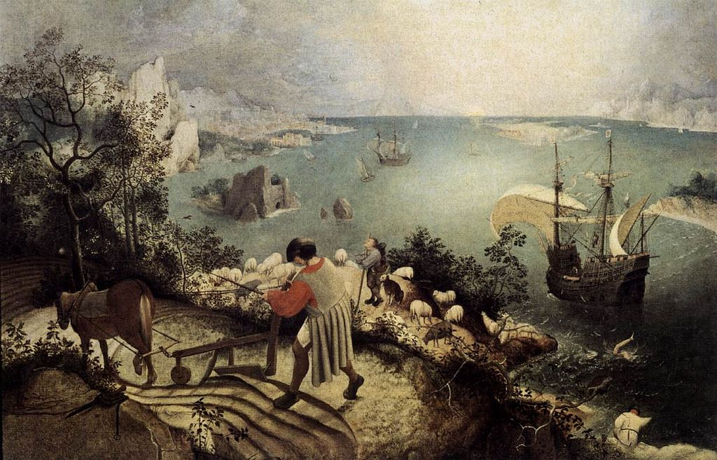 Pieter Bruegel the Elder - Landscape with the Fall of Icarus